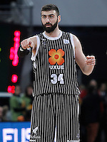 Uxue Bilbao Basket's Kostas Vasileiadis during Spanish Basketball King's Cup match.February 07,2013. (ALTERPHOTOS/Acero) /NortePhoto