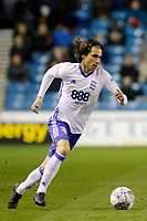 Jota of Birmingham City on the ball during the Sky Bet Championship match between Millwall and Birmingham City at The Den, London, England on 21 October 2017. Photo by Carlton Myrie.