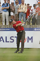 Soren Hansen tees off on the 15th tee during the 3rd round of the 2008 Open de France Alstom at Golf National, Paris, France June 28th 2008 (Photo by Eoin Clarke/GOLFFILE)