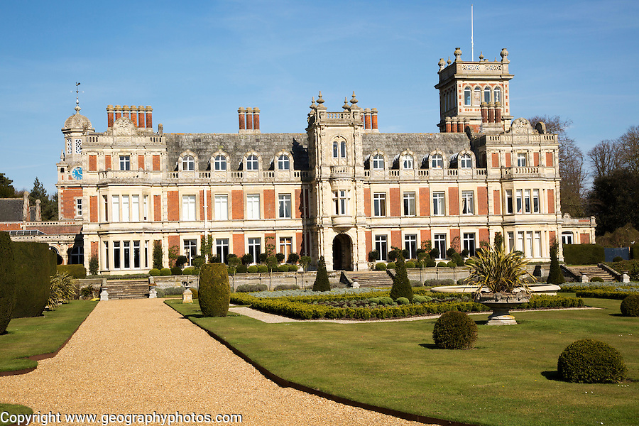 Somerleyton Hall country house, near Lowestoft, Suffolk, England, UK