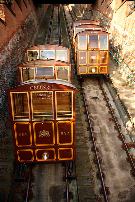 Funicular Railway - Castle District - Budapest, Hungary