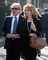 David Frost Memorial Service at Westminster Abbey<br /> <br /> jane asher with gerald scarfe husband<br /> <br /> <br /> <br /> <br /> Pic by Gavin Rodgers/Pixel 8000 Ltd