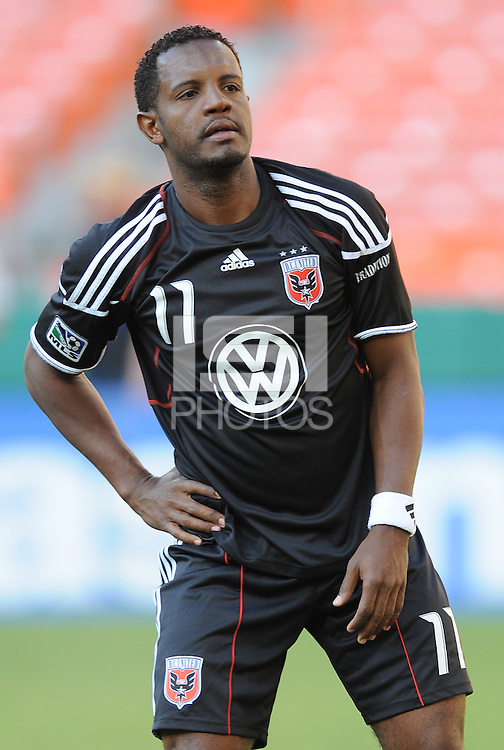 DC United forward Luciano Emilio (11).  DC United defeated The Kansas City Wizards  2-0 at RFK Stadium, Wednesday  May 5, 2010.
