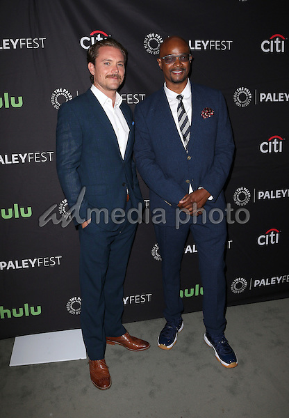 08 September 2016 -  Beverly Hills, California - Clayne Crawford, Damon Wayans, Sr.. The Paley Center For Media's PaleyFest 2016 Fall TV Preview: Lethal Weapon - FOX held at The Paley Center for Media. Photo Credit: Faye Sadou/AdMedia