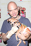 Michael Cerveris (Evita)  .backstage at Broadway Barks 14 at the Booth Theatre on July 14, 2012 in New York City. Marking its 14th anniversary, Broadway Barks!, founded by Bernadette Peters and Mary Tyler Moore helps many of New York City's shelter animals find permanent homes and also inform New Yorkers about the plight of the thousands of homeless dogs and cats in the metropolitan area.