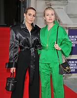 """LONDON, ENGLAND - AUGUST 08: Noomi Rapace and guest at the """"Pain and Glory"""" Film4 Summer Screen opening gala & launch party, Somerset House, The Strand, on Thursday 08 August 2019 in London, England, UK.<br /> CAP/CAN<br /> ©CAN/Capital Pictures"""