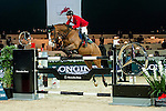 Gerco Schroder of Netherlands riding Glock's Prince de Vaux in action at the Massimo Dutti Trophy during the Longines Hong Kong Masters 2015 at the AsiaWorld Expo on 15 February 2015 in Hong Kong, China. Photo by Xaume Olleros / Power Sport Images