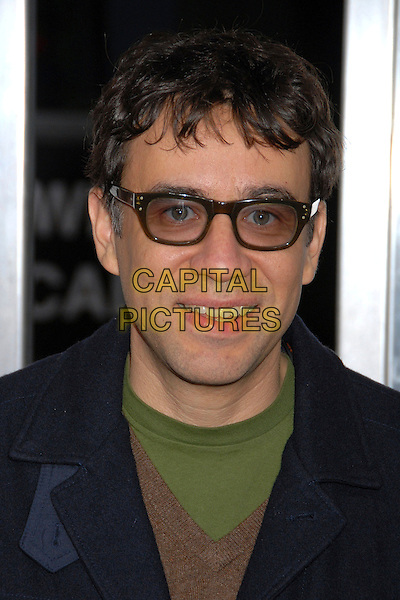 "FRED ARMISEN.""Walk Hard: The Dewey Cox Story"" Los Angeles Premiere at Grauman's Chinese Theatre, Hollywood, California, USA..December 12th, 2007.headshot portrait tinted glasses .CAP/ADM/BP.©Byron Purvis/AdMedia/Capital Pictures."