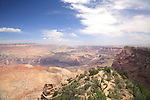 View of the Grand Canyon from the Watchtower, Grand Canyon National Park, Arizona