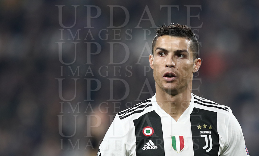 Football Soccer: UEFA Champions League -Group Stage-  Group H - Juventus vs Manchester United, Allianz Stadium. Turin, Italy, November 07, 2018.<br /> Juventus' Cristiano Ronaldo looks on during the Uefa Champions League football soccer match between Juventus and Manchester United at Allianz Stadium in Turin, November 07, 2018.<br /> UPDATE IMAGES PRESS
