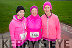 Mary Williams, Jennifer Williams and Brenda O'Connell at the Kerins O'Rahilly's '1916' 10k Run on Sunday