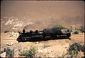 D&amp;RGW #478 along San Juan River.<br /> D&amp;RGW  Gato area, CO