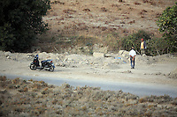 Pictured: in Kos, Greece. Monday 17 October 2016<br />
