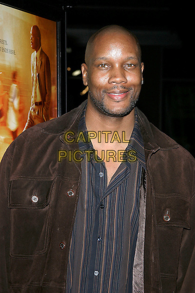 """DWAYNE ADWAY.""""Coach Carter"""" Los Angeles Premiere at Grauman's Chinese Theatre, Hollywood, California, USA, 13 January 2005..portrait headshot.Ref: ADM.www.capitalpictures.com.sales@capitalpictures.com.©Jacqui Wong/AdMedia/Capital Pictures ."""