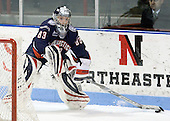 Alexandra Garcia (UConn - 83) - The University of Connecticut Huskies defeated the Northeastern University Huskies 4-1 in Hockey East quarterfinal play on Saturday, February 27, 2010, at Matthews Arena in Boston, Massachusetts.