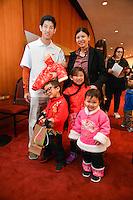 Houston Symphony Junior Patrons with Conductor Robert Franz at Jones Hall