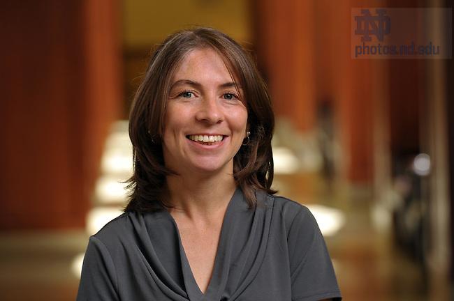 Karen Dahl..Photo by Matt Cashore/University of Notre Dame