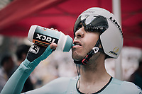 Fabio Aru (ITA/Astana) before the TT<br /> <br /> 104th Tour de France 2017<br /> Stage 20 (ITT) - Marseille › Marseille (23km)