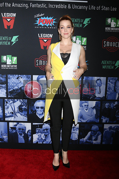 """Annie Wersching<br /> at """"Excelsior! A Celebration of the Amazing, Fantastic, Incredible & Uncanny Life of Stan Lee,"""" TCL Chinese Theater, Hollywood, CA 01-30-19<br /> David Edwards/DailyCeleb.com 818-249-4998"""