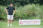 Yao Ming during the World Celebrity Pro-Am 2016 Mission Hills China Golf Tournament on 23 October 2016, in Haikou, Hainan province, China. Photo by Weixiang Lim / Power Sport Images