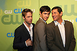 Shaun Sipos & Michael Rady & Thomas Calabro - Melrose Place at the CW Upfront 2009 on May 21, 2009 at Madison Square Gardens, New York NY. (Photo by Sue Coflin/Max Photos)