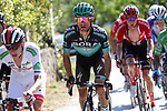 Rafal Majka (POL) Bora-Hansgrohe on the final climb during Stage 15 of La Vuelta 2019 running 154.4km from Tineo to Santuario del Acebo, Spain. 8th September 2019.<br /> Picture: Luis Angel Gomez/BettiniPhoto | Cyclefile<br /> <br /> All photos usage must carry mandatory copyright credit (© Cyclefile | Luis Angel Gomez/BettiniPhoto)