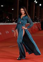 L'attrice tunisina Zaina Dridi posa sul red carpet del Festival Internazionale del Film di Roma, 22 ottobre 2015.<br /> Tunisian actress Zaina Dridi poses on the red carpet of the international Rome Film Festival at Rome's Auditorium, 22 October 2015 .<br /> UPDATE IMAGES PRESS/Isabella Bonotto