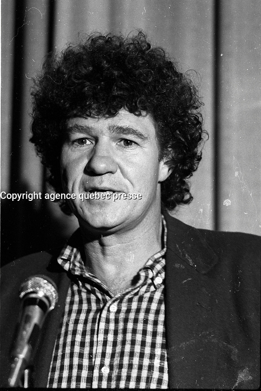 Robert Charlebois , October 12, 1986