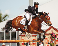 Simon ridden by Beezie Madden,  USEF trials#2 Wellington Florida. 3-22-2012