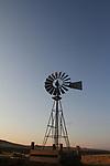 A farm windmill located in Casper Wy