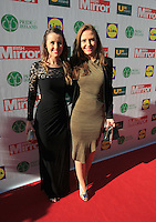 19/05/2015 <br /> Sarah O Flynn &amp; Leigh anne Arnold <br /> during the Irish mirror pride of Ireland awards at the mansion house, Dublin.<br /> Photo: gareth chaney Collins