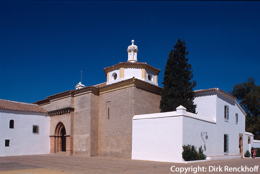 Spanien, Andalusien, Kloster La Rabida bei Huelva