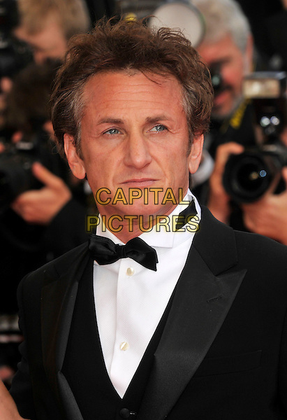 "SEAN PENN.at the screening of ""Blindness"", the opening film at the.61st Cannes International  Film Festival .14th May 2008 .gala premiere portrait headshot bow tie dinner suit tuxedo .CAP/PL.© Phil Loftus/Capital Pictures"