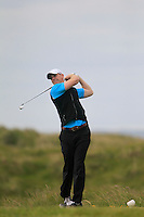 Michael Brett (Portmarnock)<br /> during R1 of the East of Ireland Amateur Open championship 2013 at Co Louth Golf club, 1/6/13<br /> Picture:  Thos Caffrey / www.golffile.ie
