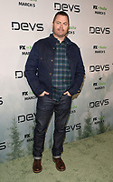 "LOS ANGELES - MARCH 2: Nick Offerman attends the premiere of the new FX limited series ""Devs"" at ArcLight Cinemas on March 2, 2020 in Los Angeles, California. (Photo by Frank Micelotta/FX Networks/PictureGroup)"