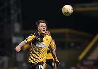 Josh Coulson of Cambridge United  during the Sky Bet League 2 match between Cambridge United and Wycombe Wanderers at the R Costings Abbey Stadium, Cambridge, England on 1 March 2016. Photo by Andy Rowland / PRiME Media Images.