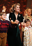 Johnny Rabe, Erin Dilly & Zac Ballard during the Broadway Opening Night Performance Curtain Call for 'A Christmas Story - The Musical'  at the Lunt Fontanne Theatre in New York City on 11/19/2012.