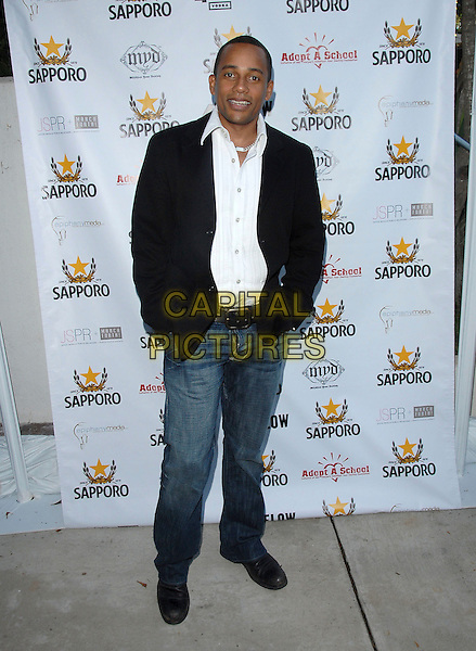 "HILL HARPER.attends The Launch of Jaime Pressly and Hill Harper's ""Adopt-a-School Initiave"" held at RJ Cutler's Estate in The Hollywood Hills, California, USA, August 12, 2006..full length.Ref: DVS.www.capitalpictures.com.sales@capitalpictures.com.©Debbie VanStory/Capital Pictures"
