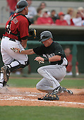 Eric Reed of the Florida Marlins vs. the Houston Astros March 15th, 2007 at Osceola County Stadium in Kissimmee, FL during Spring Training action.  Photo copyright Mike Janes Photography 2007.