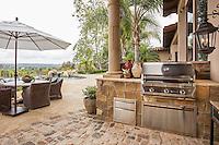 Gustafson Residence, Rancho Santa Fe. Landscape design by Kelly Fore Dixon. Photographer, David Verdugo.