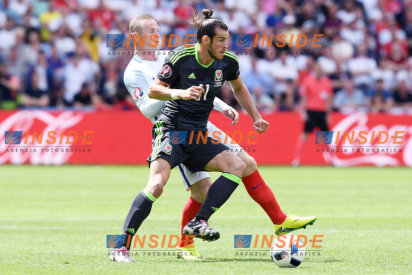 Gareth Bale Wales, Wayne Rooney England <br /> Lens 16-06-2016 Stade Bollaert-Delelis Footballl Euro2016 England - Wales / Inghilterra - Galles Group Stage Group B. Foto Matteo Gribaudi / Image Sport / Insidefoto