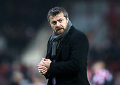 2nd December 2017, Griffen Park, Brentford, London; EFL Championship football, Brentford versus Fulham; Fulham Manager Slavisa Jokanovic looks on