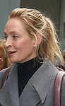 """Uma Thurman attends Opening Night performance of """"The Inheritance"""" at the Barrymore Theatre on November 17, 2019 in New York City."""