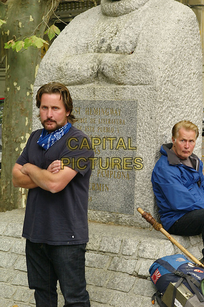 EMILIO ESTEVEZ & MARTIN SHEEN.in The Way.*Filmstill - Editorial Use Only*.CAP/FB.Supplied by Capital Pictures.