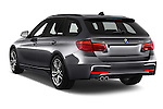 Car pictures of rear three quarter view of 2018 BMW 3-Series 330i-Sports-Wagon 5 Door Wagon Angular Rear