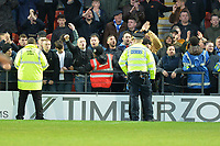 Stockport fans cause trouble during Barnet vs Stockport County, Emirates FA Cup Football at the Hive Stadium on 2nd December 2018
