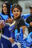 Edecanes de Telcel.<br />  <br /> Aspectos del segundo d&iacute;a de actividades de la Serie del Caribe con el partido de beisbol  &Aacute;guilas Cibae&ntilde;as de Republica Dominicana contra Caribes de Anzo&aacute;tegui de Venezuela en estadio Panamericano en Guadalajara, M&eacute;xico,  s&aacute;bado 3 feb 2018. (Foto  / Luis Gutierrez)