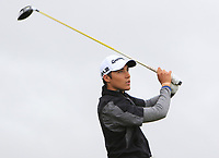 Dominic Foos (GER) on the 11th tee during Round 2 of the Bridgestone Challenge 2017 at the Luton Hoo Hotel Golf &amp; Spa, Luton, Bedfordshire, England. 08/09/2017<br /> Picture: Golffile | Thos Caffrey<br /> <br /> <br /> All photo usage must carry mandatory copyright credit     (&copy; Golffile | Thos Caffrey)