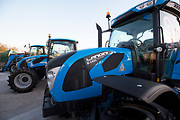 New Landini tractors at show<br /> &copy;Tim Scrivener Photographer 07850 303986<br /> ....Covering Agriculture In The UK....