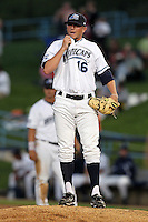 West Michigan Whitecaps pitcher Matt Little during a game vs. the South Bend Silver Hawks at Fifth Third Field in Comstock Park, Michigan August 16, 2010.   West Michigan defeated South Bend 3-2.  Photo By Mike Janes/Four Seam Images
